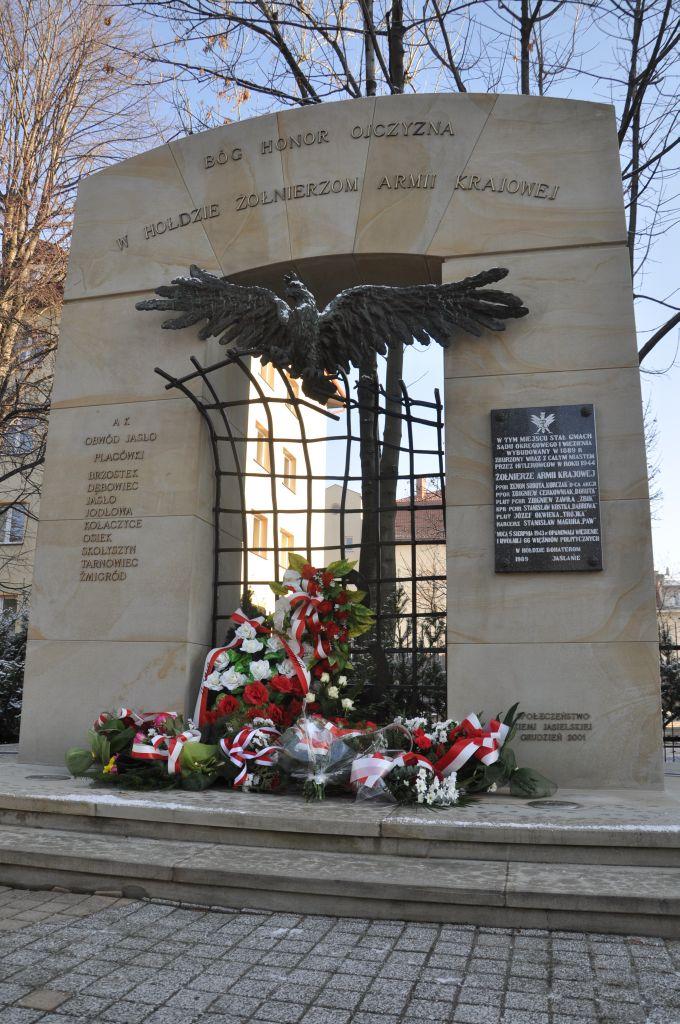 Pomnik Armii Krajowej w Jaśle