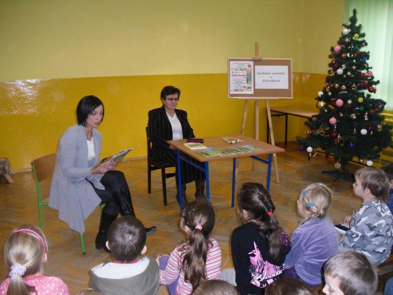 Spotkanie literackie w Trzcinicy