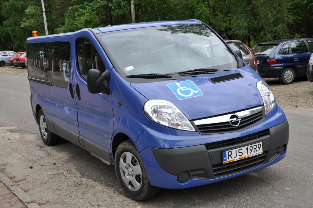 Nowy mikrobus DPS w Foluszu