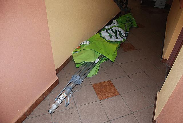 Skradziony parasol
