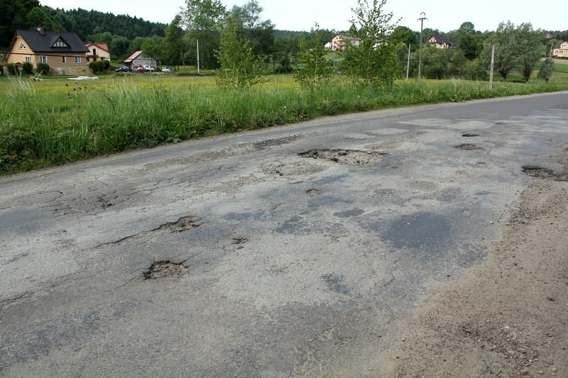 Droga powiatowa Jareniówka-Jabłonica