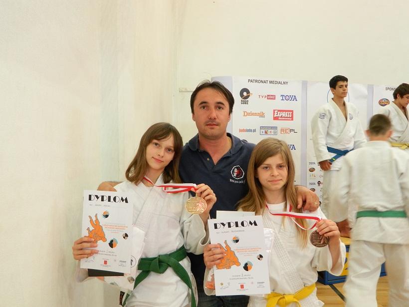 Sukces jasielskich judoczek