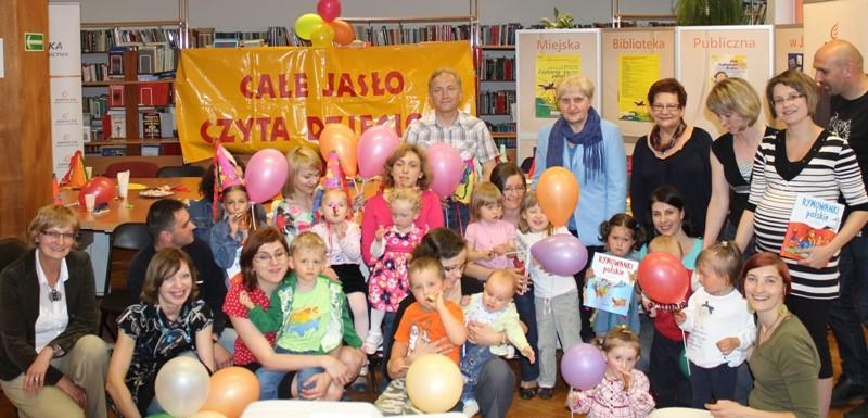 1 urodziny Klubu Czytających Rodzin