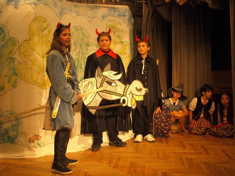 Występy teatralne