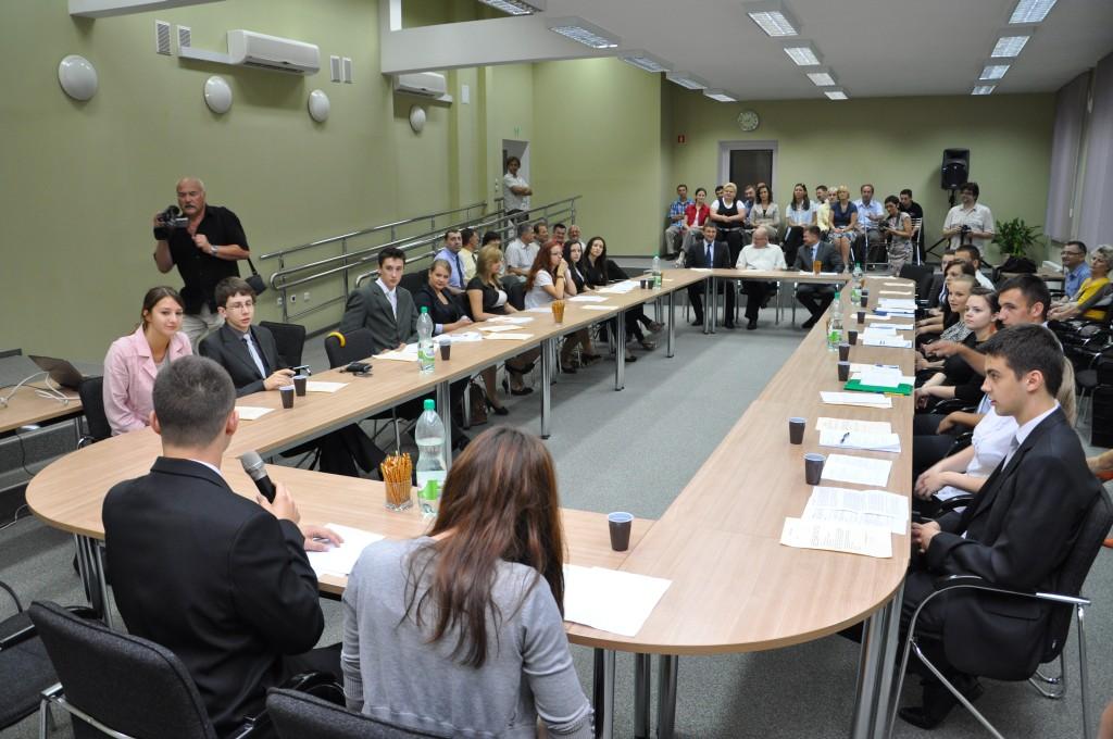 Posiedzenie Młodzieżowej Rady Powiatu Jasielskiego