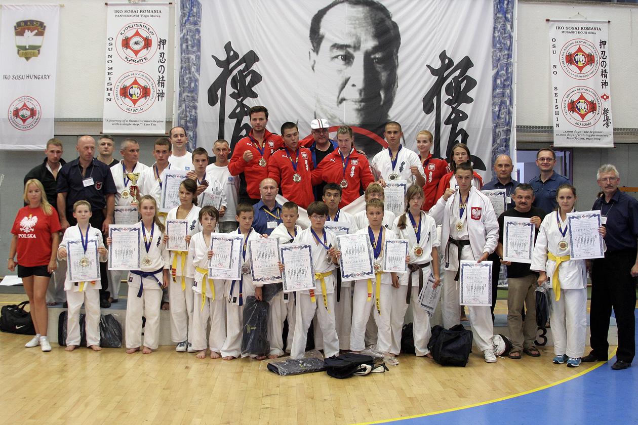Mistrzostwa Europy karate w Rumunii