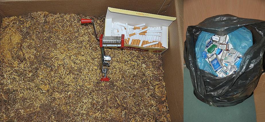 Produkowali nielegalnie wyroby tytoniowe