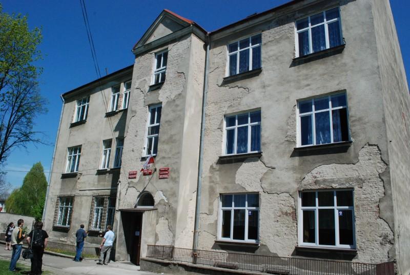 Budynek ZSUiS w Jaśle